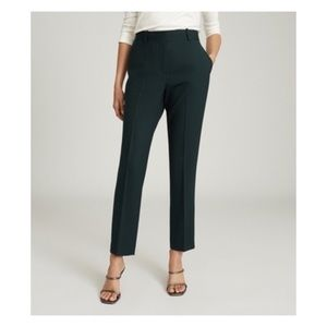 Reiss Wool blended slim fit suit pants